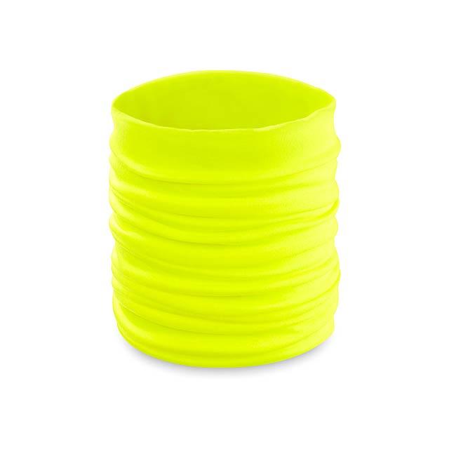 Becks nákrčník - žlutá