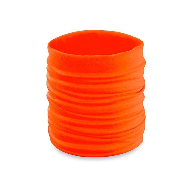 Becks nákrčník - oranžová