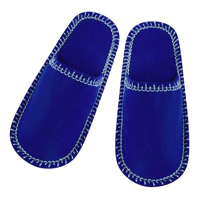 Cholits pantofle - modrá