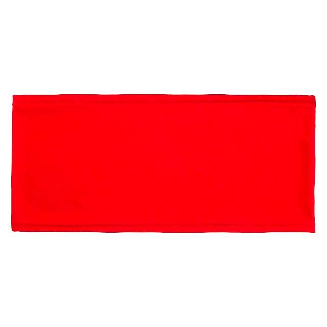 Hiners potah na opěradlo židle - červená