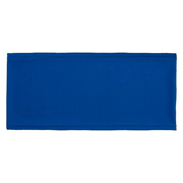Hiners potah na opěradlo židle - modrá