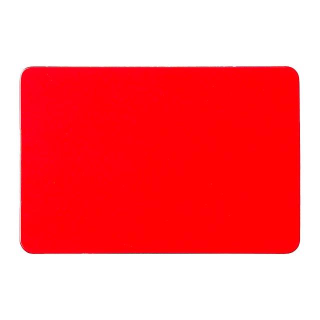 Kisto magnetka na ledničku - červená
