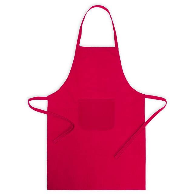 Xigor kuchyňská zástěra - červená