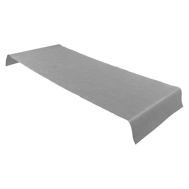 Lezel přehoz na stůl - šedá