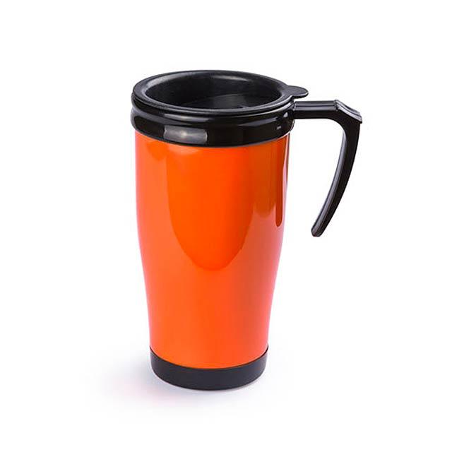 Colcer termohrnek - oranžová