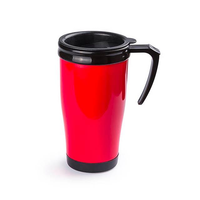 Colcer termohrnek - červená