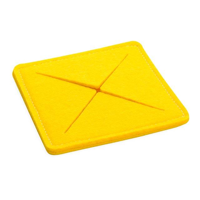Tanzak tácek - žlutá