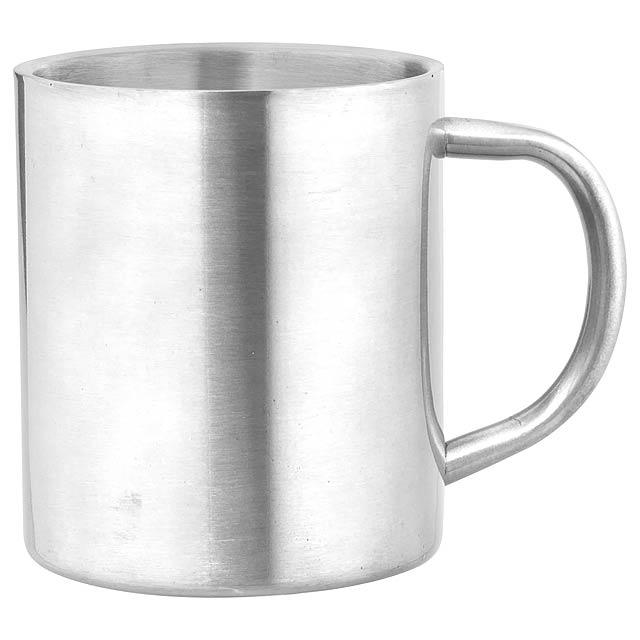 Yozax hrnek - stříbrná