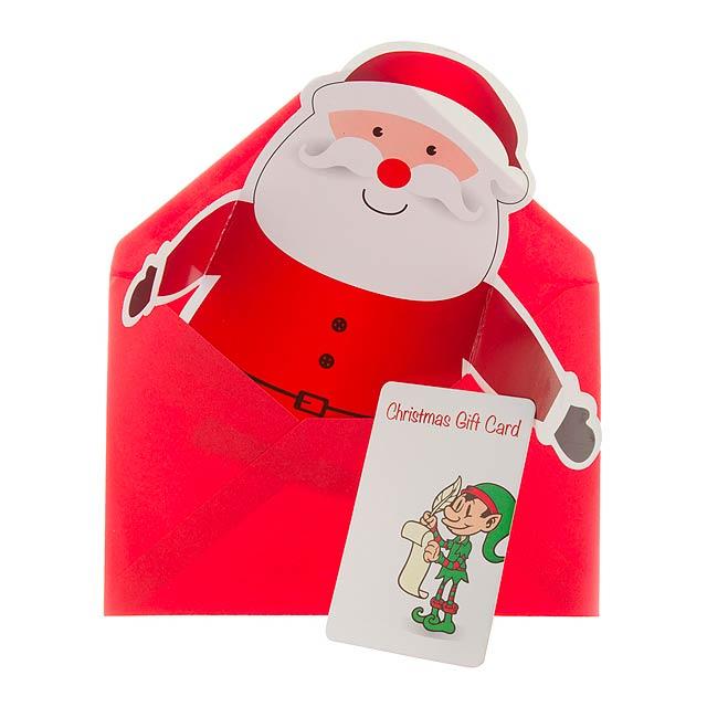 Poxtal vánoční přání - multicolor