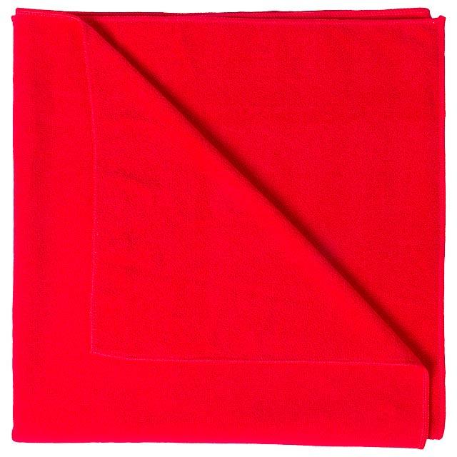 Lypso ručník - červená