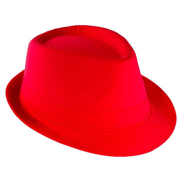 Likos klobouk - červená