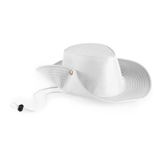 Tosep klobouk - bílá