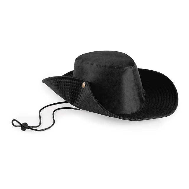 Tosep klobouk - černá