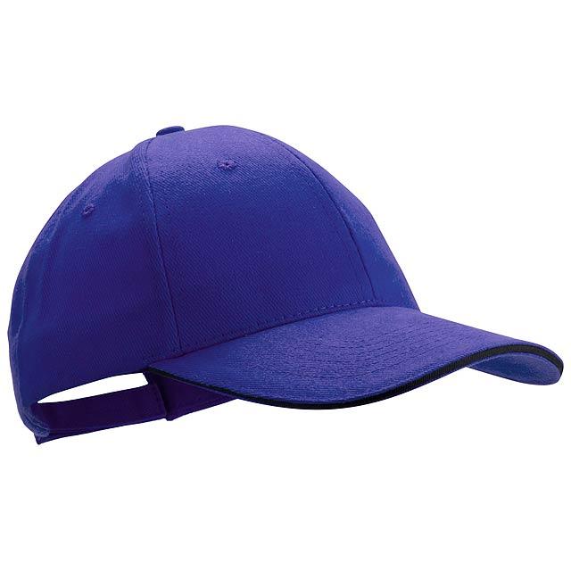 Rubec basebalová čepice - modrá