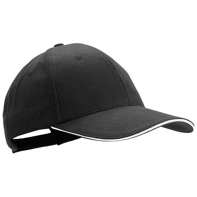 Rubec basebalová čepice - černá