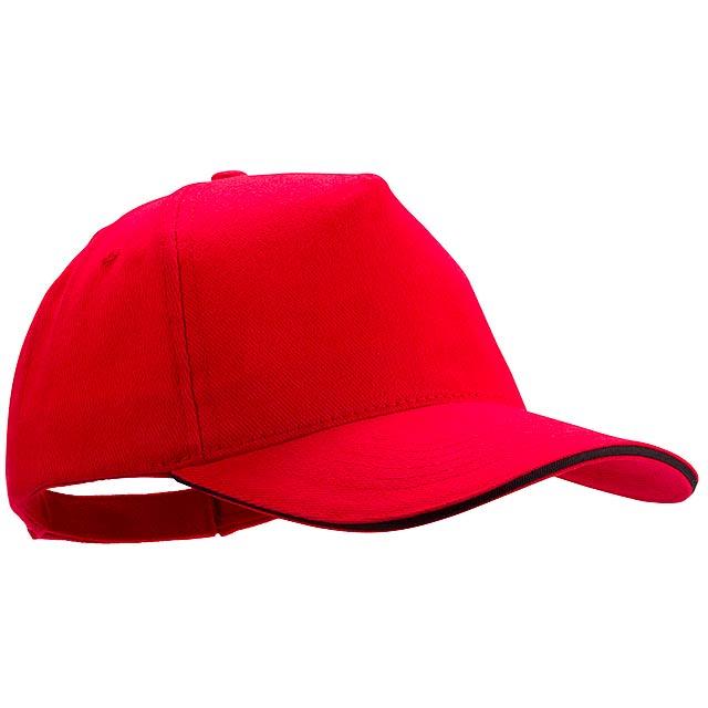 Kisse baseballová čepice - červená