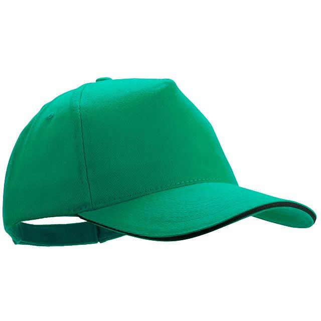 Kisse baseballová čepice - zelená