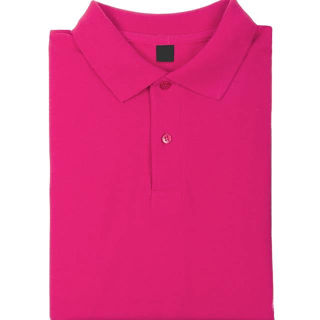 Tričko pro dospělé, 100% bavlna, 180 g/m². - růžová - foto
