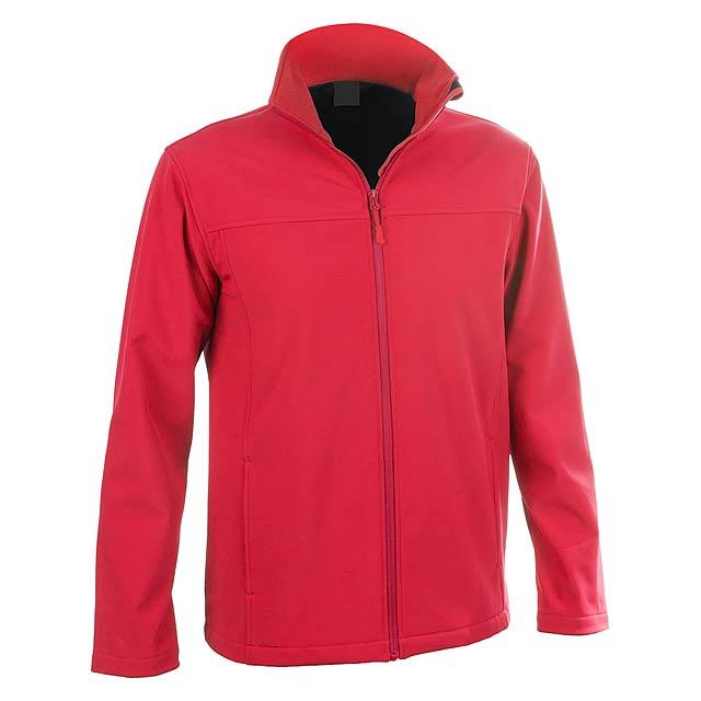 Baidok softshellová bunda - červená