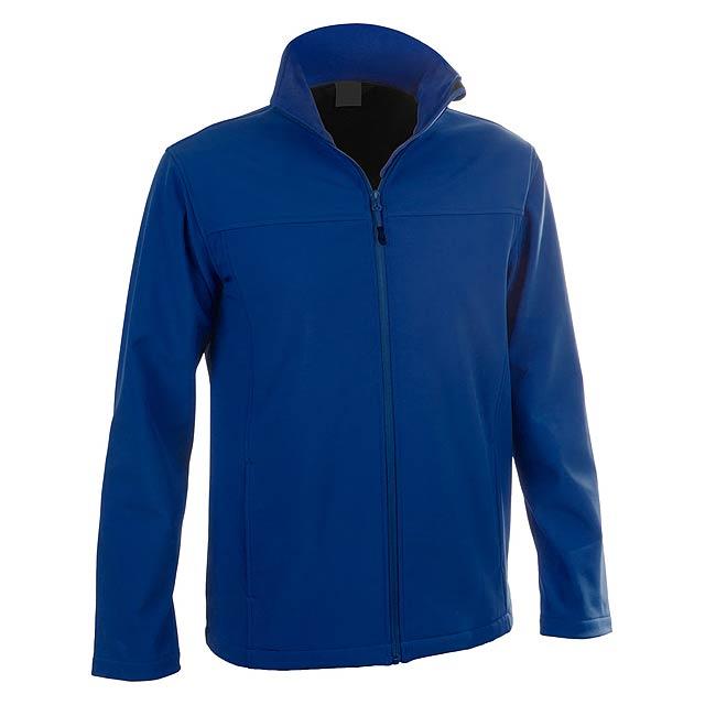 Baidok softshellová bunda - modrá