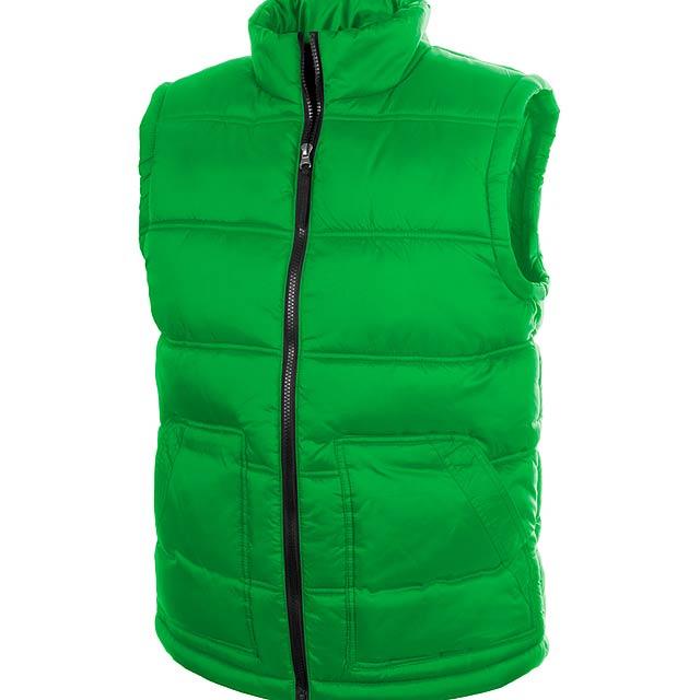 Tansy zateplená vesta - zelená