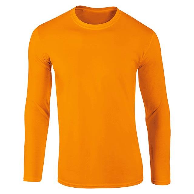 Sportovní mikina pro dospělé, 100% polyester,265 g/m². - oranžová - foto