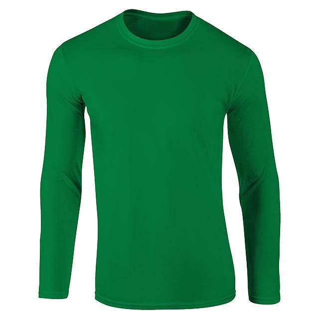Sportovní mikina pro dospělé, 100% polyester,265 g/m². - zelená - foto