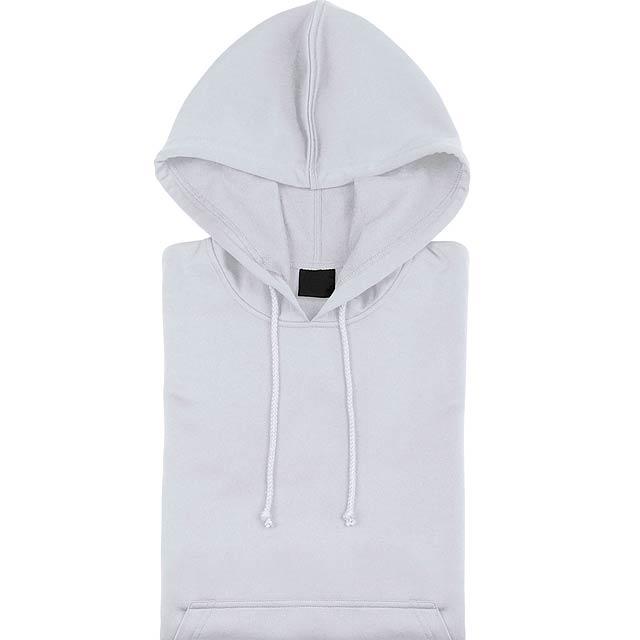 Theon Mikina s kapucí - bílá