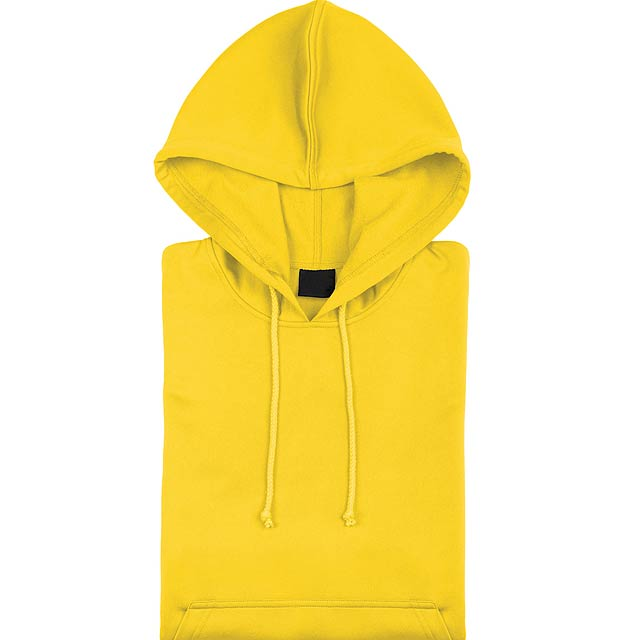 Theon Mikina s kapucí - žlutá