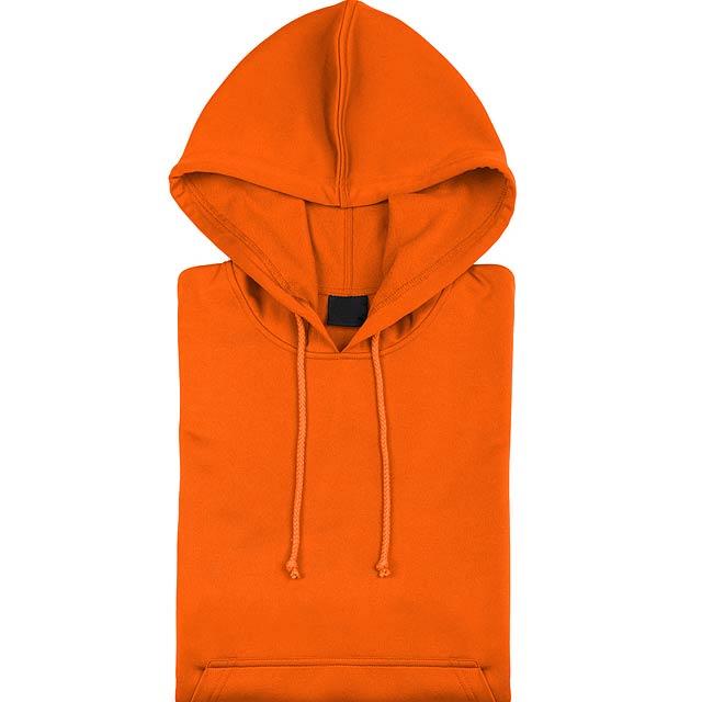 Theon Mikina s kapucí - oranžová