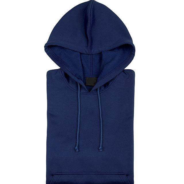 Theon Mikina s kapucí - modrá