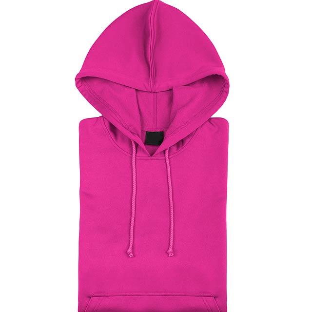 Theon Mikina s kapucí - růžová