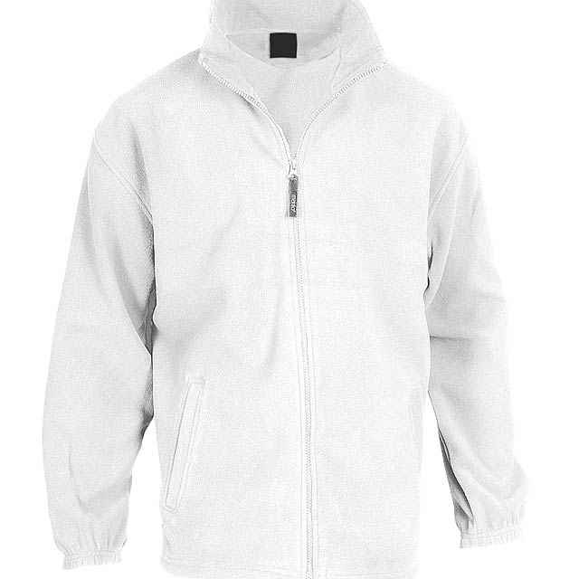 Hizan fleecová bunda - bílá
