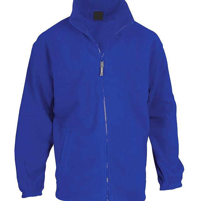 Hizan fleecová bunda - modrá