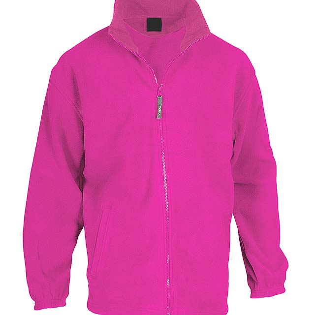 Hizan fleecová bunda - růžová