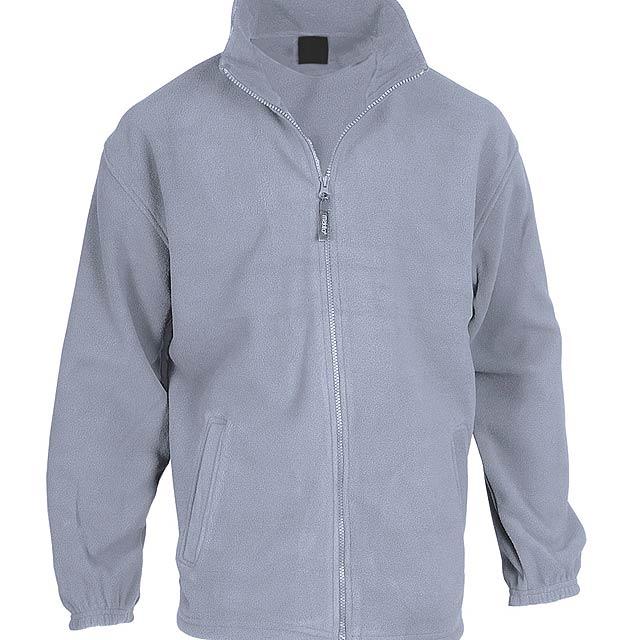 Hizan fleecová bunda - šedá