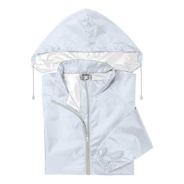 Natsu pláštěnka - bílá