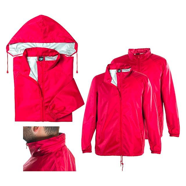 Natsu pláštěnka - červená