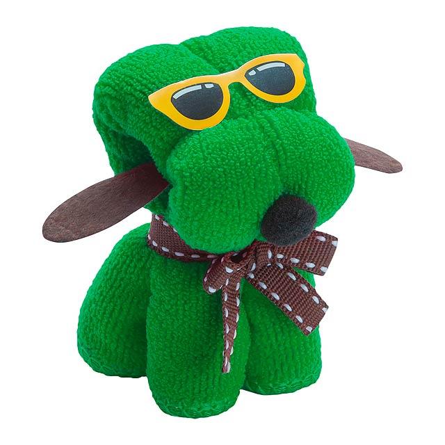 Rustuff ručník - zelená