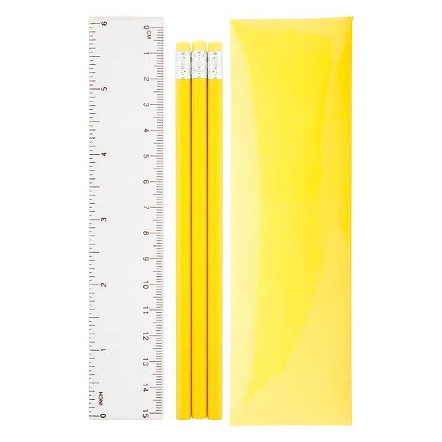 Bleistiftset - Gelb
