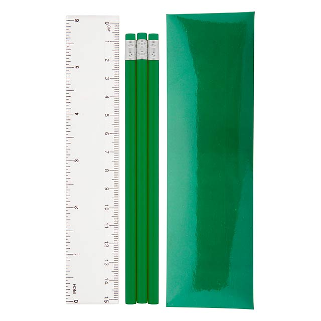 Bleistiftset - Grün
