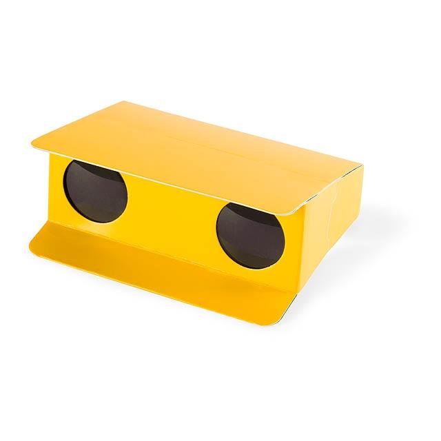 Lenny dalekohled - žltá