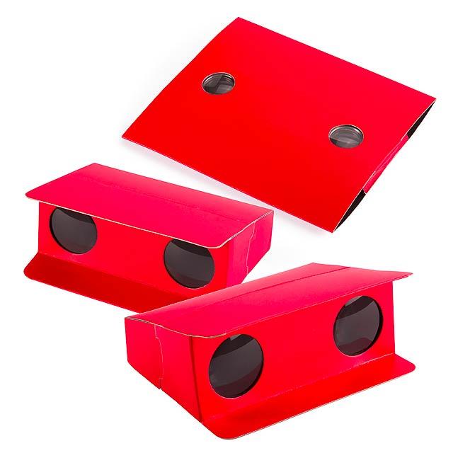 Lenny dalekohled - červená