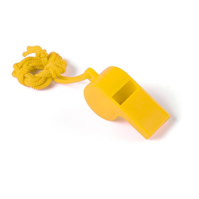 Yopet píšťalka - žltá