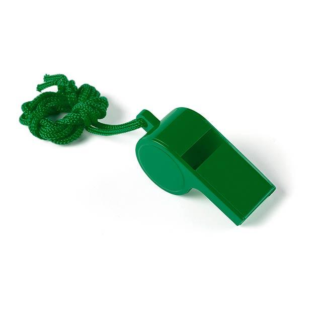 Yopet píšťalka - zelená