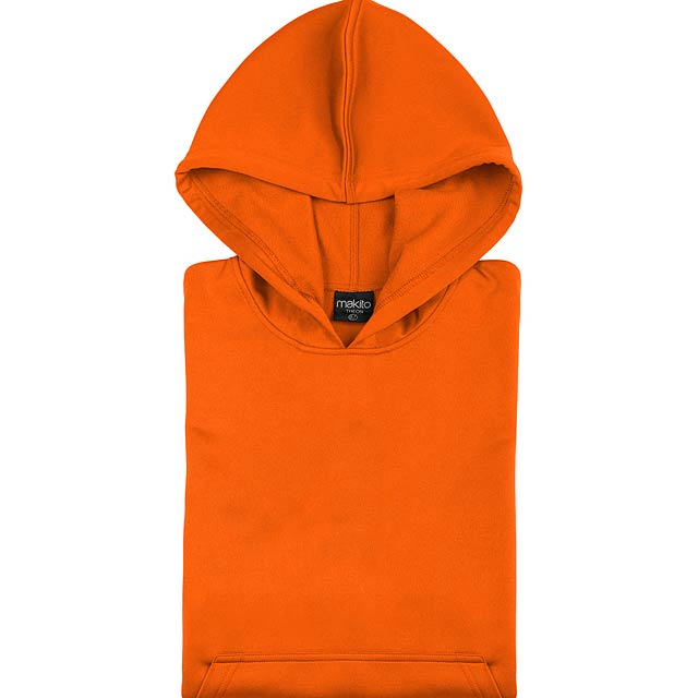 Theon Kid raglánová mikina - oranžová