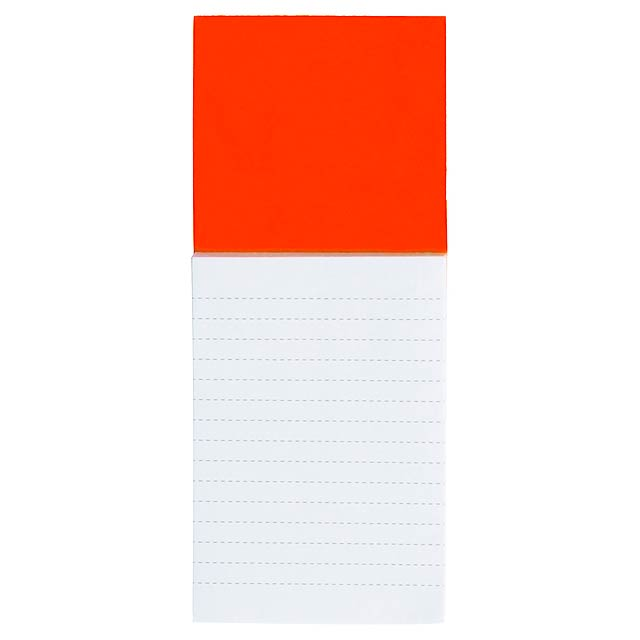 Sylox blok s magnetkou - oranžová