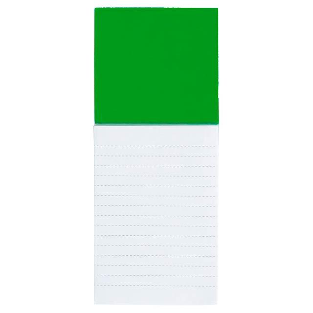 Sylox - Magnetischer Notizblock - Grün