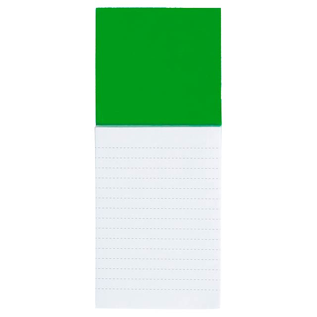Sylox blok s magnetkou - zelená