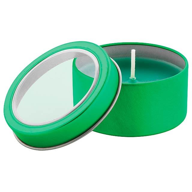 Sioko svíčka - zelená